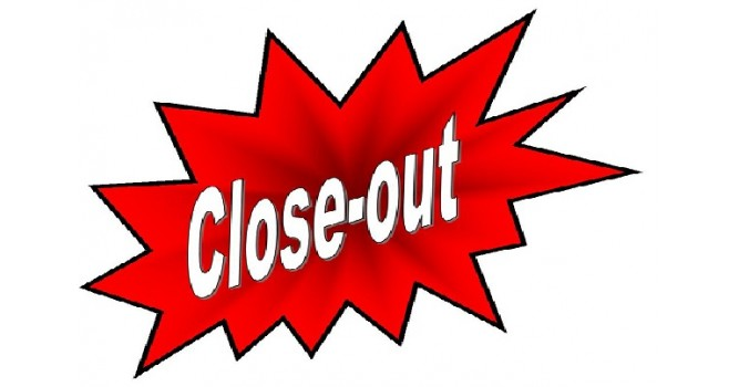 Closeout Items