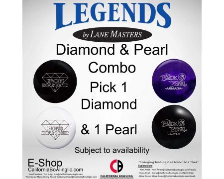 DIAMOND and PEARL COMBO