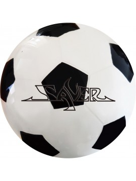 SAVER URETHANE CLEAR SOCCER (BLACK)