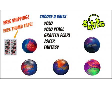 SWAG 2 BALL COMBO + FREE THUMB TAPE